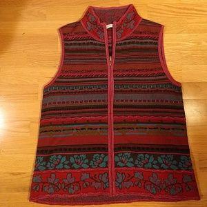 Coldwater Creek pink vest